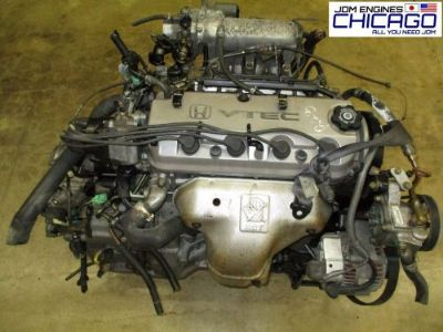 Sell 1994-1997 HONDA ACCORD 2.2L SOHC 4-CYL VTEC JDM F22B ENGINE ONLY motorcycle in Elk Grove Village, Illinois, United States, for US $599.00