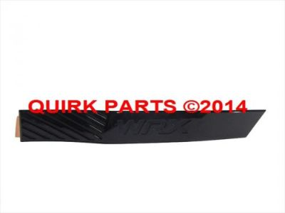 "Sell 2008-2014 Subaru Impreza & WRX Right Hand ""WRX"" Side Molding Garnish OEM NEW motorcycle in Braintree, Massachusetts, United States, for US $24.95"