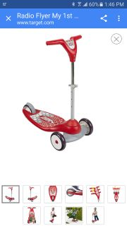 NEW Radio flyer my first scooter