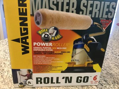 WAGNER MASTER SERIES ROLL N GO . NEVER TAKEN OUT OF BOX.
