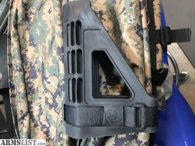 For Sale: SB tactical pistol brace SBM4 black