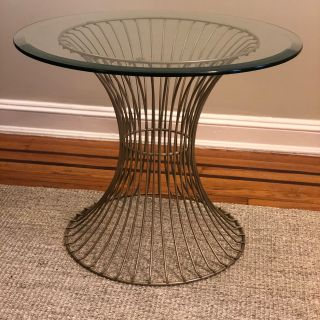 Vintage Knoll inspired side table