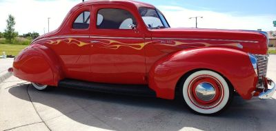 1940 Ford Deluxe Coupe-Restored & Modified