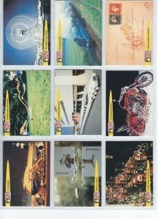 1992 Pro Set Guiness Book of Records Trading Cards