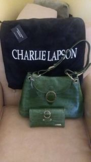 Charlie Lapson purse and wallet