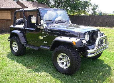 $2,263, CLean  Jeep Wrangler