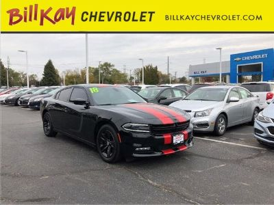 2018 Dodge Charger SXT Plus (Pitch Black Clearcoat)