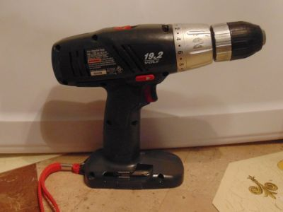 Craftsman 19.2 volt Battery Drill-Driver no battery just drill