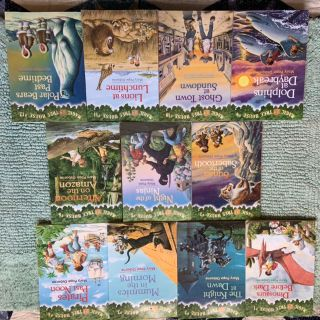 11 Magic Treehouse books, some brand new ... $15