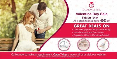 Exclusive offer at Diamonds Inc