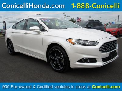 2016 Ford Fusion (White Platinum Metallic Tri-Coat)