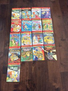 EUC The Magic School Bus chapter books, 17 books in total, pick up in steveston.