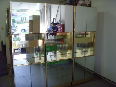 China Cabinet Mirror with lights