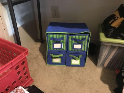 4 cube organizer (pick up only off Morganton rd)