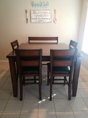 6 piece dining room table