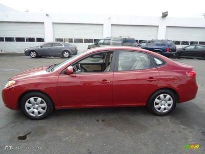 2008 Hyundai Elantra GLS (Maroon)