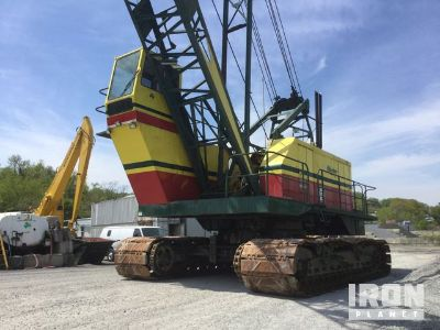 1981 Bucyrus Erie 88B Lattice-Boom Crawler Crane