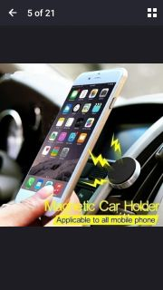 Air vent mount for phone