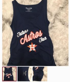 ISO Astros Maternity top