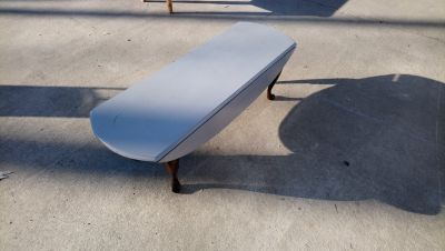 Coffee Table With Side Drop Leafs!