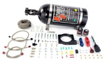 Purchase Nitrous Outlet 90mm MagnaCharger Nitrous Plate System (Passenger side Fittings) motorcycle in Woodway, Texas, United States, for US $650.00