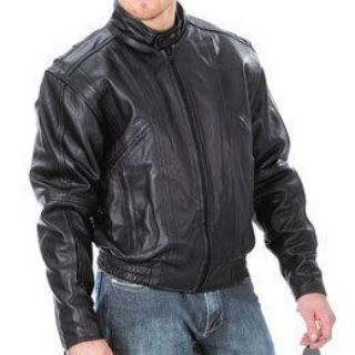 Purchase TexPort Men's Touring Leather Riding Jacket Black size 36 motorcycle in Westerville, Ohio, US, for US $50.00