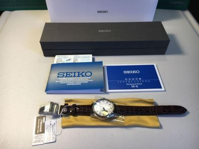 Seiko watch presage automatic sapphire crystal power reserve