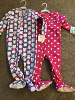 2 pairs of sleepers NWT