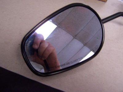 Purchase Harley Short Stem OEM Left Side Black Mirror (s3) motorcycle in Orange City, Florida, United States, for US $19.95