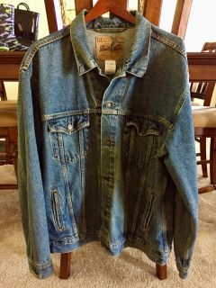 MEN S XL LEVI STRAUSS JEAN JACKET