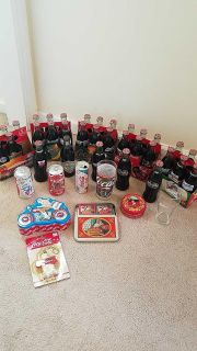 Coca cola collectibles. All for $25. Meet at Griffin Walmart
