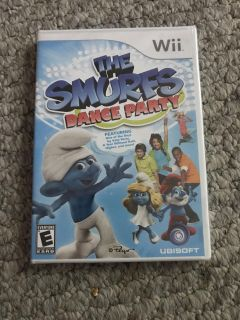 Kids Wii Video Game - The Smurf s Dance Party