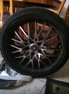 $600 OBO rims & tires