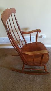 Nicols & Stone 1946-1949 All American - Rocking Chair, Antique - solid wood!
