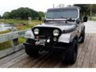1982 Jeep CJ 4.0 L Gray