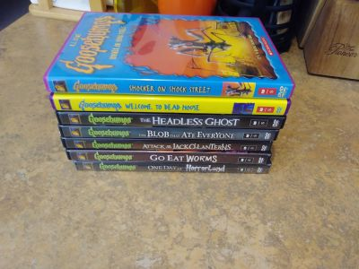 Goosebumps DVDS (7)