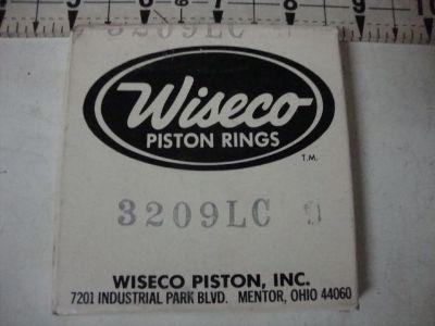 Purchase PISTON RINGS WISECO 3209LC HUSQVARNA POLARIS KTM YAMAHA HONDA KAWASAKI SUZUKI motorcycle in Shelbyville, Illinois, US, for US $24.50