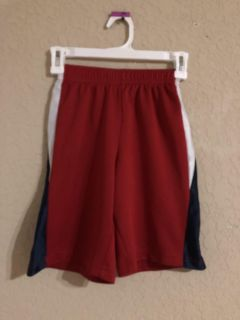 Boys Red Sports Jersey Shorts. Nice Condition. Size 8