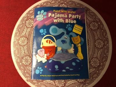 Blue s Clues Paint With Water Pajama Parry With Blue