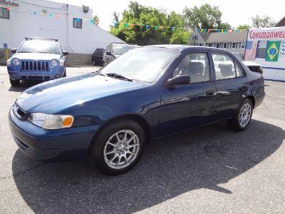 1998 Toyota Corolla CE (Mystic Teal Mica)