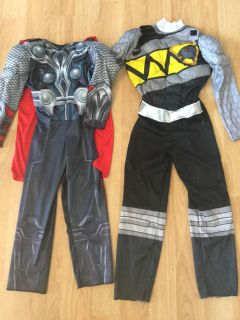 Power Ranger and Avengers Costumes together for $9