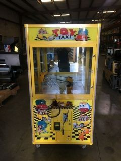 "Toy Taxi 38"" Crane Arcade Machine RTR# 9023497-03"