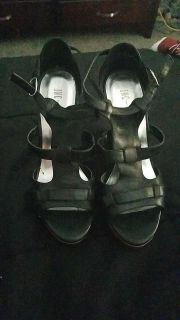 INC wedge sandals size 9.5