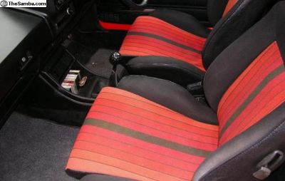 MK1 GTI seats (MODIFIED FOR 73-79 Bug)