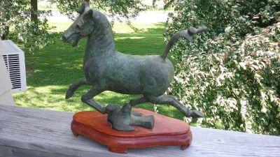 """""""Flying Horse"""" of Wuwei, Bronze, Han Dynasty"""