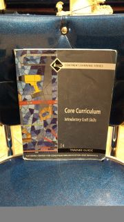 Core Curriculum Introductory Craft Skills. Ave online price w/shipping is $20.00. Asking $12.00