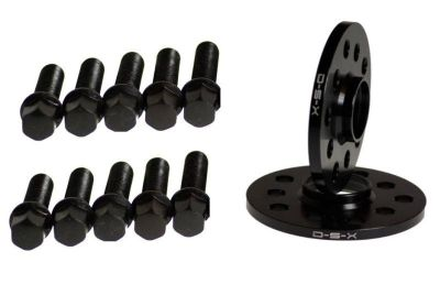 Buy VW 10MM Wheel Spacers BLACK 5x100 5x112 SET + BALL SEAT BOLTS JETTA GOLF PASSAT motorcycle in Watertown, Massachusetts, US, for US $55.99