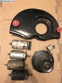 Type 1 generators and dog house fan shroud