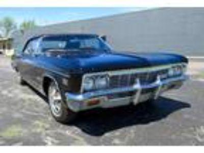 1966 Chevrolet Impala SS Tuxedo Black