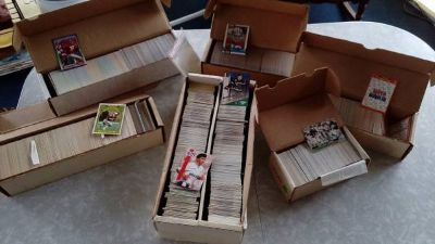 Lot Sports Trading Cards 5 each